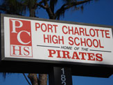 PCHS marquee